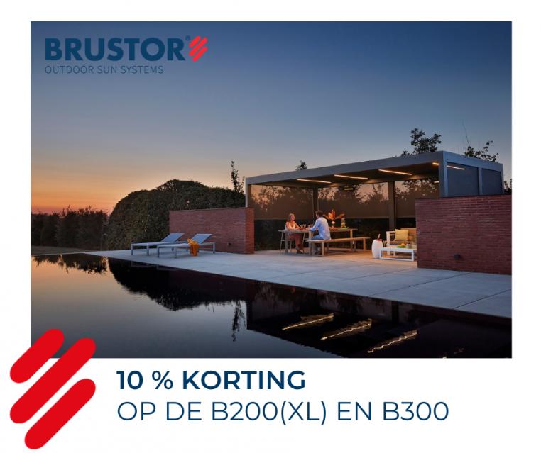 Brustor outdoor living actie 2021