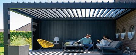 Veranda | terrasoverkapping lameldaken