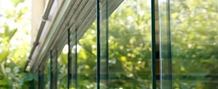 Glaswanden