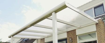 Veranda | terrasoverkapping met kunststof platen