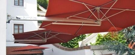 Parasol wand montage solero