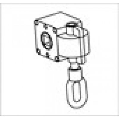 Blokoogwindwerk voor zonwering  met asgat 13 mm