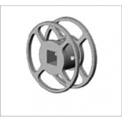 Schijf Aluminium voor staaldraad